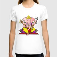 hindu T-shirts featuring Hindu god by American Artist
