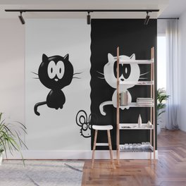 Catch the mouse Wall Mural