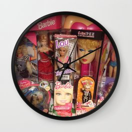 #BarbieLou with tomodachi  Wall Clock