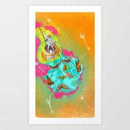 The Chariot - Tarot Art Print