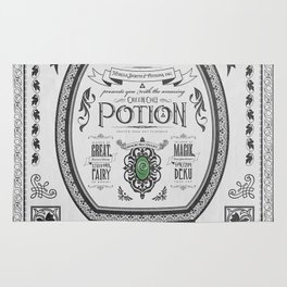Legend of Zelda Green Chu Potion Advertisement Rug