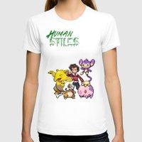 stiles T-shirts featuring PokeWolf: Stiles Stilinski by Trickwolves