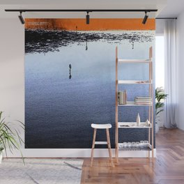 Wildlife Sanctuary Reflection Wall Mural