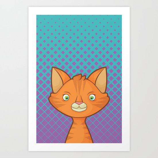 Pop Cats: Snitch Art Print