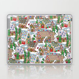 Gingerbread Village Laptop & iPad Skin