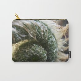 Spring Unfurling Carry-All Pouch