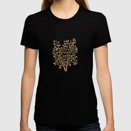 Golden Ficus Tree T-shirt