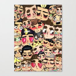 ZIAM COLLAGE Canvas Print