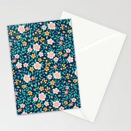"Cute Floral pattern in the small flower. ""Ditsy print"". Stationery Cards"