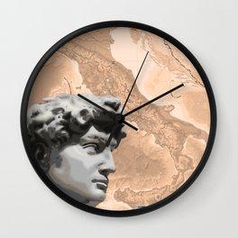 Michelangelo's David Wall Clock
