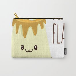 Biggest-Flan Carry-All Pouch
