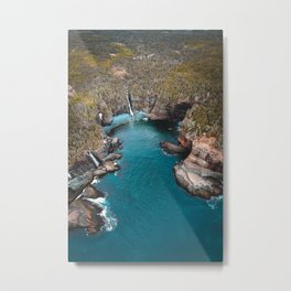 Stiles Cove Metal Print