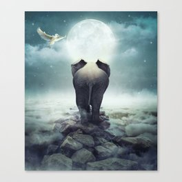 Guide You Through the Darkness Canvas Print