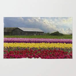 Flower Art - Hope Is by Jordan Blackstone Rug