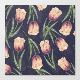 Tulipa pattern 4.3 Canvas Print