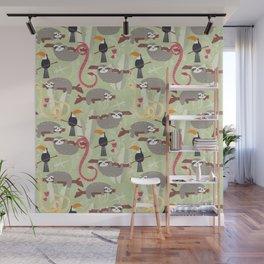 Rain forest animals 005 Wall Mural