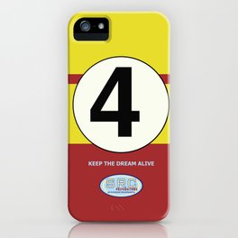 SRC Preparations. Racecar Rebels. 4 iPhone Case