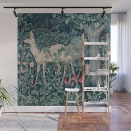 William Morris Forest Deer Wall Mural