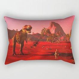 Man Or Animal Rectangular Pillow