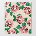 Pomegranate V2 #society6 #decor #buyart by 83oranges