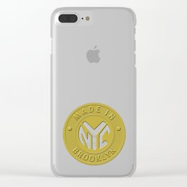 Made In New York Brooklyn Clear iPhone Case