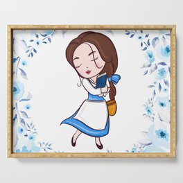 CUTE BELLE Serving Tray