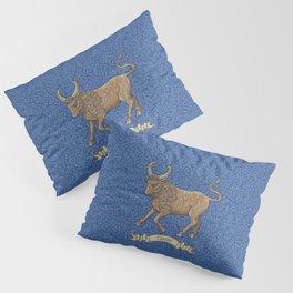 Vintage Astrology - Taurus Pillow Sham