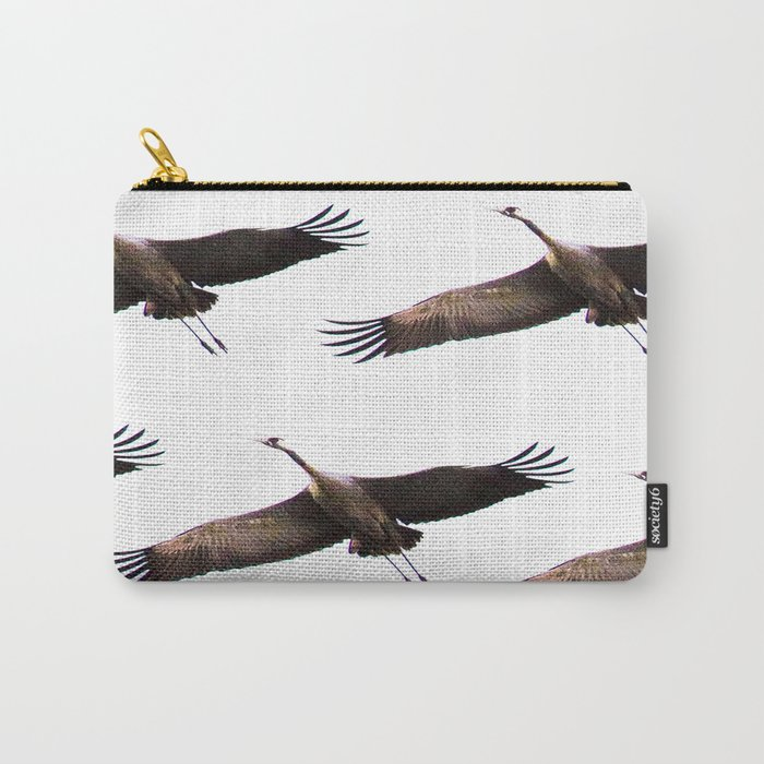 Cranes in flight #decor #society6 #buyart Carry-All Pouch