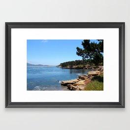 Pebble Beach Framed Art Print