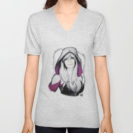 Gwen Stacy is Spider-Woman Unisex V-Neck