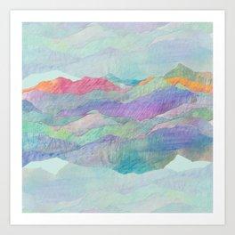 Everything Beautiful- Mountain Art Print