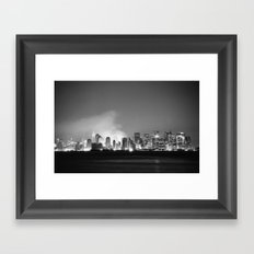 The City 1: In Ruins Framed Art Print