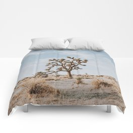 Joshua Tree II / California Desert Comforters