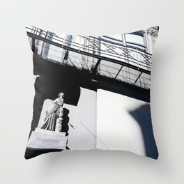 Visiting ancient architecture at Graz, capital city of Styria, Austria Throw Pillow