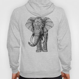 Ornate Elephant Hoody