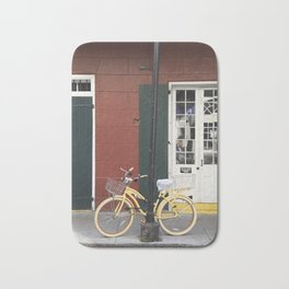 New Orleans Bicycle - Orleans Street Bath Mat