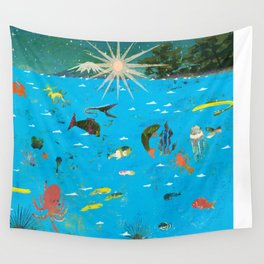 Happy New Year Wall Tapestry