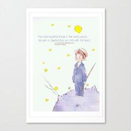 Little Prince Jinki Canvas Print