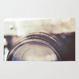 Vintage Zenit-B Camera Diptych Rug