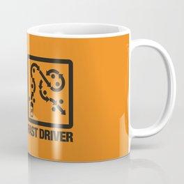 Fast Car - Fast Driver v2 HQvector Coffee Mug