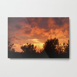 Sunsets of Summer Metal Print
