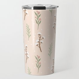 Cotton Stalks Travel Mug