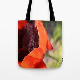 Poppy & Stem Tote Bag