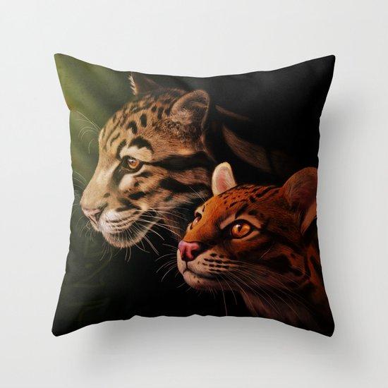 Bestia Throw Pillow