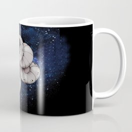 Space station from the fantastic world of the future . artwork Coffee Mug