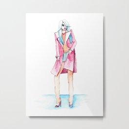 Zoe Metal Print