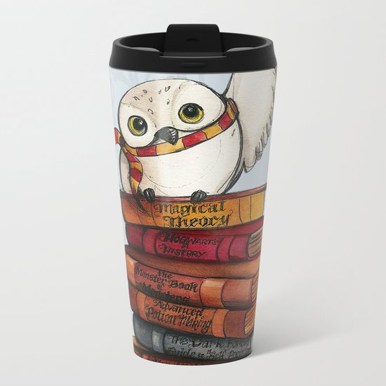 Hedwig Metal Travel Mug