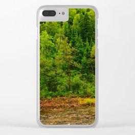 495nm riparian zone Clear iPhone Case