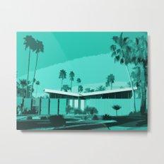 Twin Palms 3 Metal Print