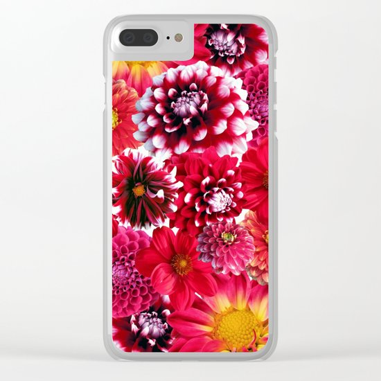 Botanical Beauty II Clear iPhone Case